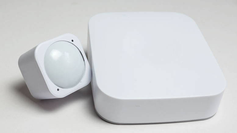 Z-Wave Controller and Sensor