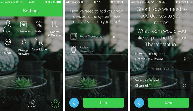 Wider App Screen Shots