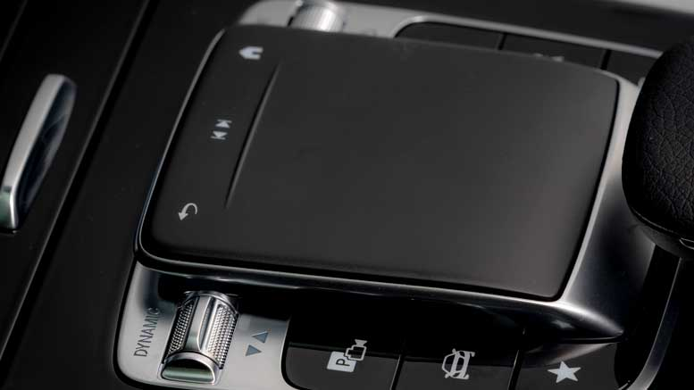 New 2018 Mercedes-Benz A-Class - MBUX Control Pad