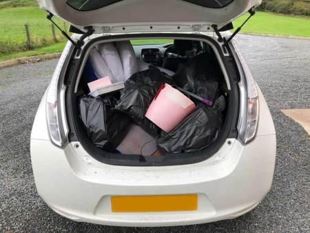 Nissan Leaf as a Van