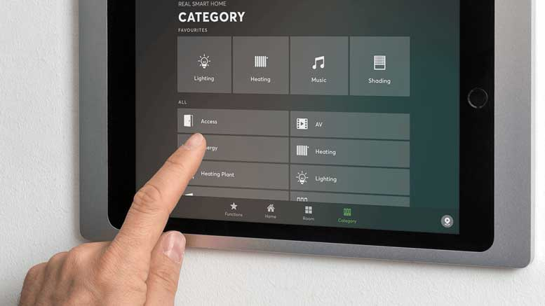 Loxone iPad Wall Mount