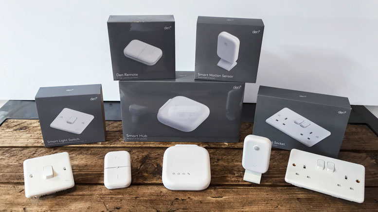 New UK Smart Home Range from Den
