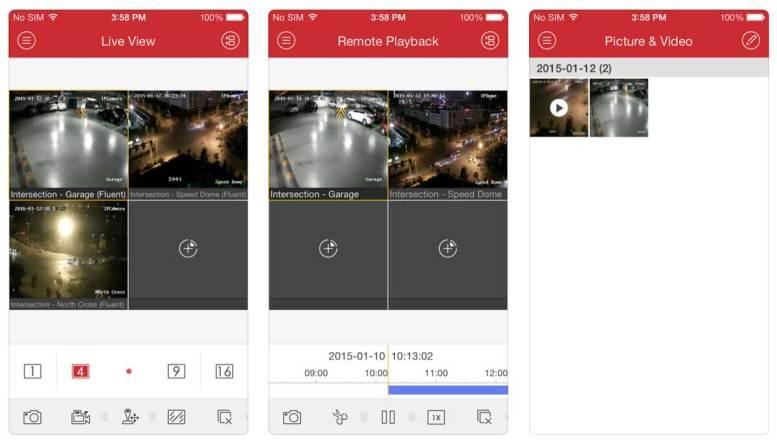 Hikvision iVMS 4500 App