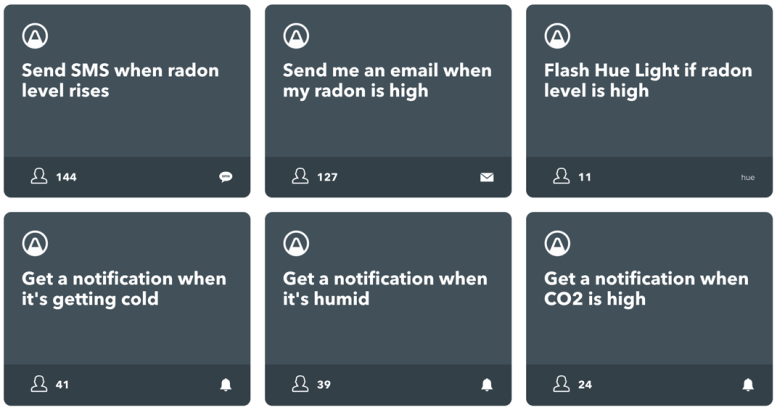 Airthings IFTTT Integration