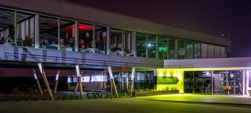 Loxone HQ at Night