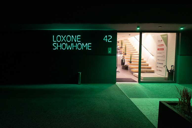 Loxone Show Home - Exit