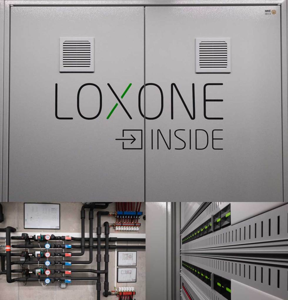Loxone Show Home - Plant Room