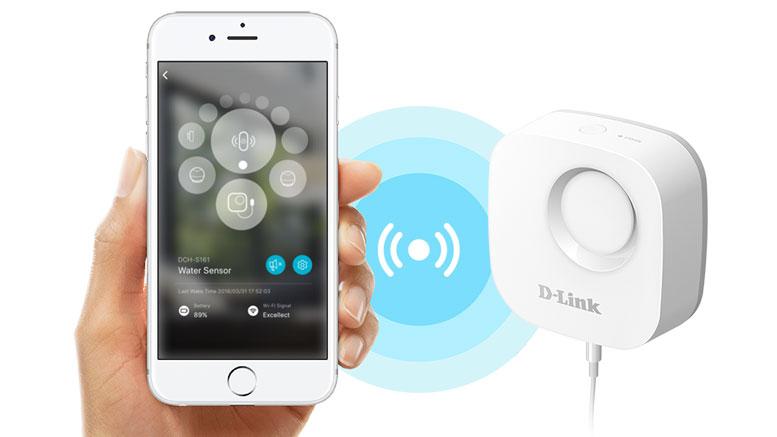 D-Link WiFi leak Detector