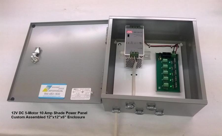 Somfy 5 Motor Power Distribution Control Board