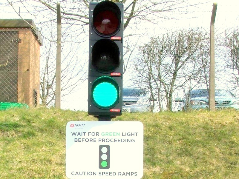 car park traffic lights
