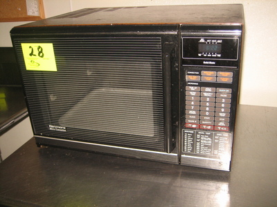 vintage convection microwave oven