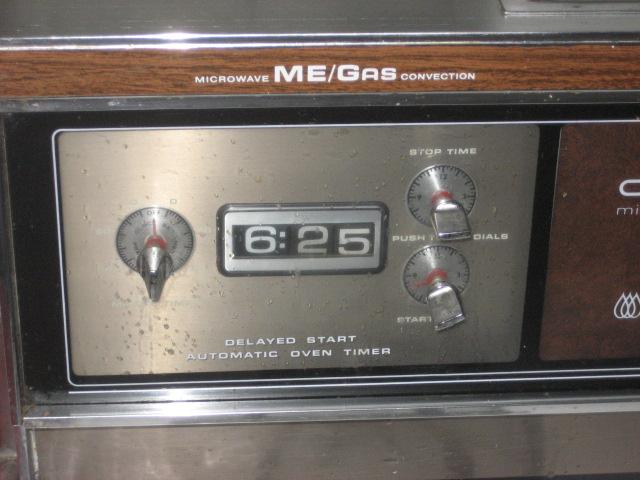1981 caloric microwave gas convection