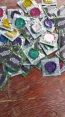 condoms!