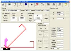 backgauge control software
