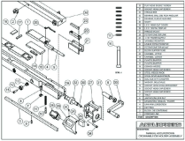 Accurpress Press Brake: Manual Accurcrown Crownable Die Holder Assembly
