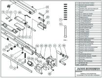 Accurpress Press Brake: Manual Accurcrown Crownable Die Holder Assembly