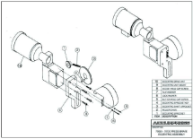 70060-70130 Press Brake Eccentric Assembly