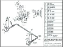 70320 (High Speed) UP Press Brake Hydraulic Transmission Assembly