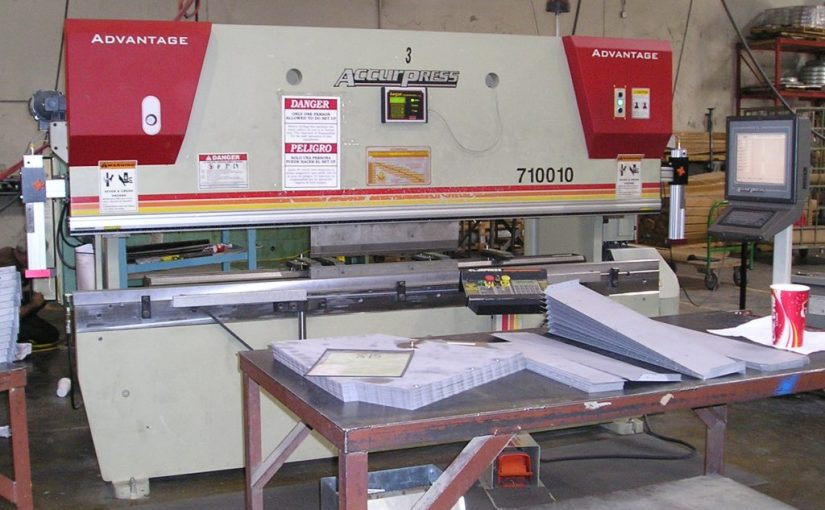Accurpress Parts and Assemblies Manual for Press Brakes