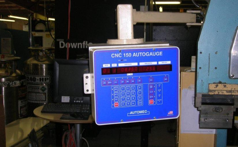 Hurco S-6 Press brake Upgrade Instructions for CNC 150