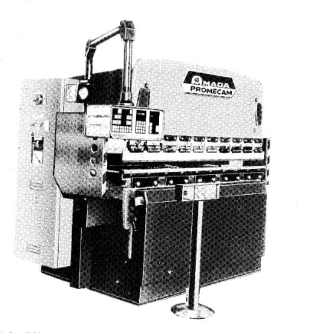 Amada Promecam Hydraulic Press Brake Control troubleshooting