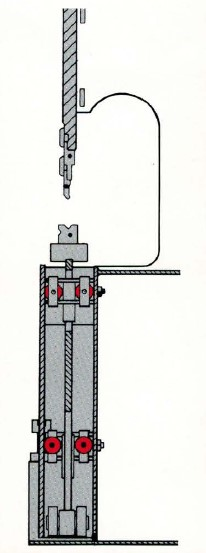 The eccentric shaft