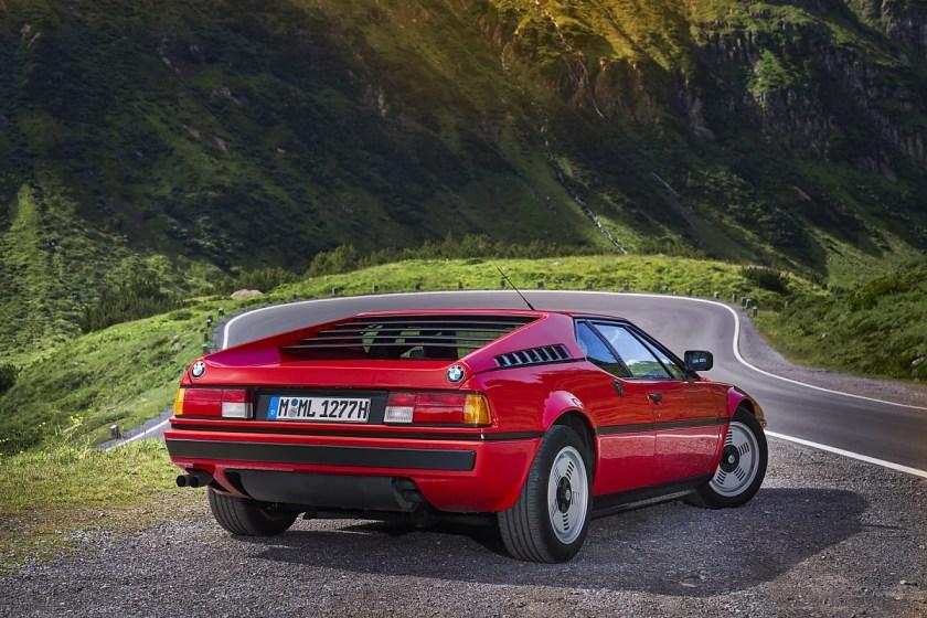 BMW M1 - spektakulär auch von hinten