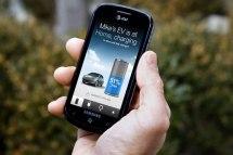 L'application mobile de la Ford Focus électrique