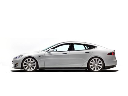 La ligne très attractive de la Tesla Model S