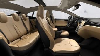 L'interieur de la Tesla Model S