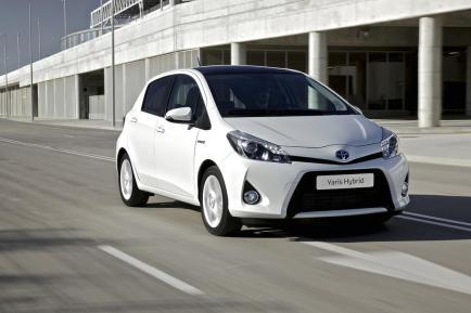 La Yaris hybride développe une puissance de 74 ch