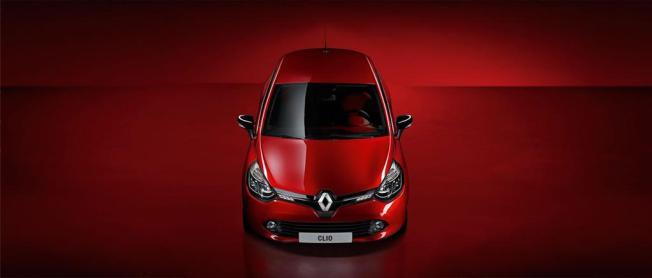 La nouvelle Renault Clio de dessus