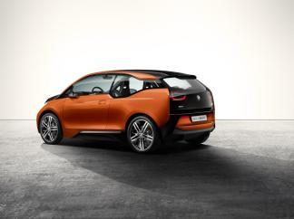 La BMW i3 Coupé de 3/4 arrière