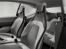 L'intérieur de la BMW i3 Coupé