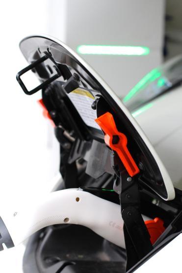 Le connecteur côté véhicule