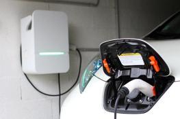 La borne de recharge Hager lors de la charge de ma voiture électrique