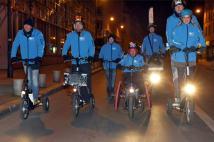 L'équipe Hello Hydrogène dans la nuit de Paris