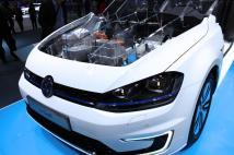 Le moteur électrique de la Volkswagen e-Golf