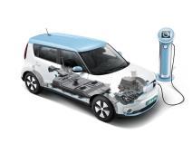 Le système de recharge du KIA Soul EV