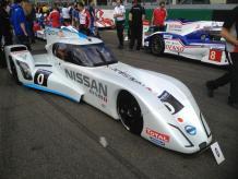Le look très particulier de la Nissan ZEOD aux 24h du Mans