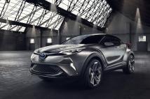 Toyota CH-R : le futur Crossover hybride de Toyota