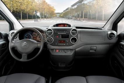 Citroën Berlingo Electrique : aperçu intérieur