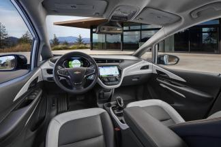 2017 Chevrolet Bolt EV - Vue intérieur