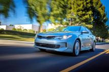 La Kia Optima hybride rechargeable