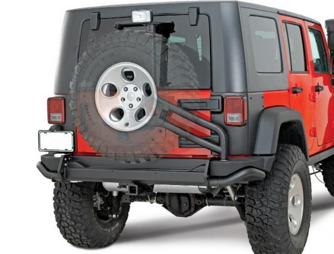 Upgrade Auto Spare Parts Aev Rear Bumper And Spare Tire