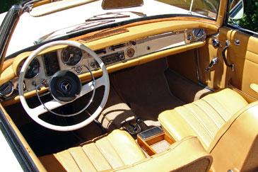 MERCEDES BENZ SL R113 PAGODE 1967 1971 RETRO