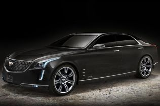Cadillac Will Build Flagship Luxury Sedan in Detroit