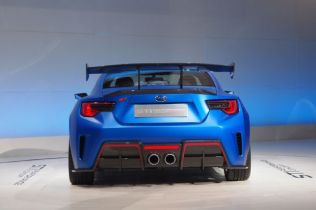 Subaru BRZ STI Concept Debuts at New York Auto Show