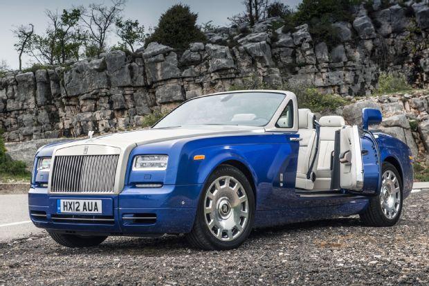 2014 Rolls Royce Phantom Drophead Coupe Three Quarters View 1