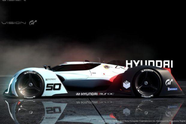 Hyundai N 2025 Vision Gran Turismo Side